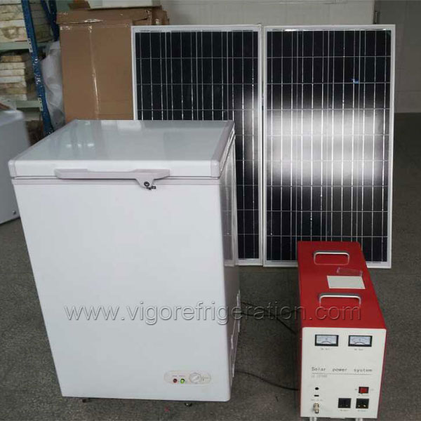 what is a complete solar freezer kit including